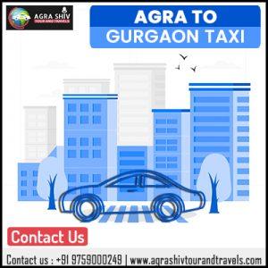 Agra To Gurgaon Taxi