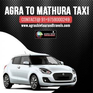 Agra To Mathura Taxi Hire